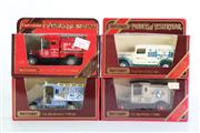 Sale 8960T - Lot 25 - A Set Of Four Matchbox Models of Yesteryear Toy Cars Incl Red Crown Gasoline