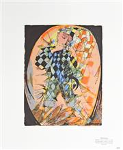Sale 8161A - Lot 8 - Charles Blackman (1928 - ) - Harlequin 61.5 x 50.5cm