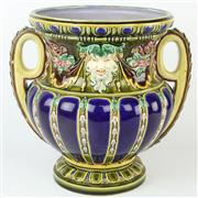 Sale 8399 - Lot 20 - Continental Late 19th Century Majolica Jardiniere