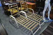 Sale 8105 - Lot 1037 - Pair of Pool Lounges