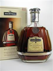 Sale 8201A - Lot 526 - 1x Martell XO Supreme Extra Old Cognac - in box