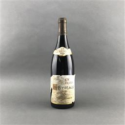Sale 9156A - Lot 746 - 2001 E. Guigal Ex Voto Rouge, Ermitage  - cellar stained label