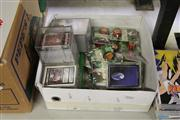 Sale 8169 - Lot 2242 - Box of Cricket Memorabilia, Star & Battletech Cards