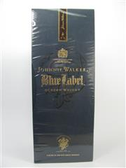 Sale 8201A - Lot 534 - 1x Johnnie Walker Blue Label Blended Rare Whisky - in box