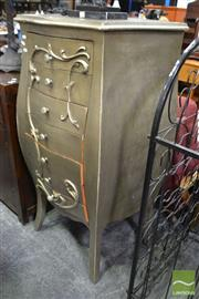 Sale 8489 - Lot 1081 - Gilded French Style Chest of Seven Drawers