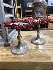Sale 8901F - Lot 1027 - Pair of Small Candle Holders