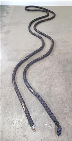 Sale 9255 - Lot 1458 - Large Ironedge exercise/cross fit rope