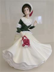 Sale 8338A - Lot 137 - Royal Doulton Figurine, Pretty Ladies Collection, Christmas Day 2008, HN5210