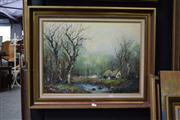 Sale 8410T - Lot 2023 - Forest Scene