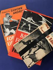 Sale 8419A - Lot 91 - 20 Books! - box includes Les Darcy, Jimmy Wilde, and Mrs Tex Ricard, etc