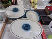 Sale 8478 - Lot 2510 - Wedgewood Crock Pots with Two Small Dishes