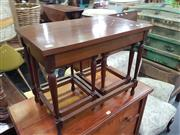 Sale 8566 - Lot 1250 - Nest of Three Tables