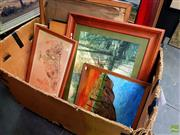 Sale 8631 - Lot 2028 - Collection of Artworks & Prints (box not included)