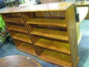 Sale 7937A - Lot 1155 - Pair of Open Timber Shelves