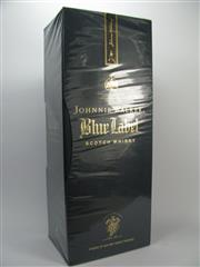 Sale 8201A - Lot 535 - 1x Johnnie Walker Blue Label Blended Rare Whisky - in box