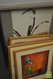 Sale 8214 - Lot 2067 - Collection of Jerry Liew Artworks, various sizes