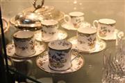 Sale 8346 - Lot 84 - Spode Teacup And saucers For 6 Persons