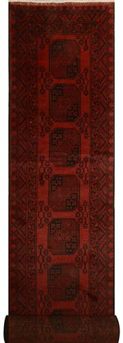 Sale 8402C - Lot 29 - Afghan Filpa Runner 470cm x 80cm