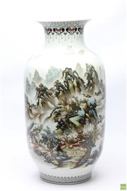 Sale 8652W - Lot 41 - Large Chinese Republic Style Vase