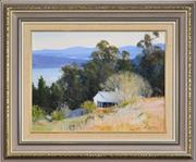 Sale 8309 - Lot 502 - John Downton (1939 - ) - A Change of Season, Near Wildes Meadow, Fitzroy Ponds, 1984 29.5 x 40cm