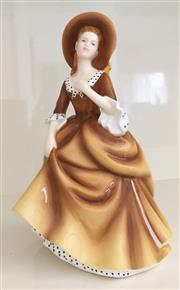 Sale 8338A - Lot 139 - A Royal Doulton Figurine, Pretty Ladies Collection, Sandra HN 5412