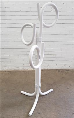 Sale 9151 - Lot 1097 - Modernist tubular plastic coat rack (h155cm)
