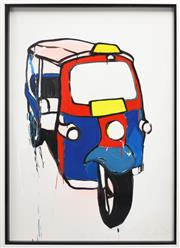 Sale 8257A - Lot 64 - Jasper Knight (1978 - ) - Tuk-Tuk 3, 2010 118 x 79cm