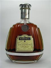 Sale 8201A - Lot 527 - 1x Martell XO Supreme Extra Old Cognac