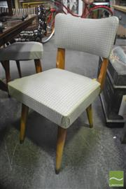 Sale 8323 - Lot 1066 - Set of 6 Retro Dining Chairs