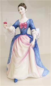 Sale 8338A - Lot 140 - A Royal Doulton Figurine, Peggy Davies Collection, Valerie HN 3904