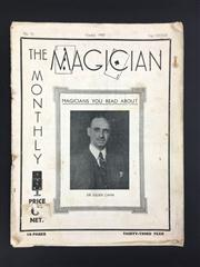Sale 8539M - Lot 147 - Two Volumes of The Magician Monthly Oct 1937, vol. 33, no.11 & Dec 1938, vol. 35, no. 1