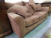 Sale 8562 - Lot 1093 - American Fabric Two Seater Lounge