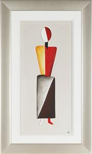 Sale 8906 - Lot 2037 - Artist Unknown (C.W) - Abstract Figure 77 x 34.5 cm