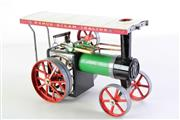 Sale 8960 - Lot 1 - A Vintage Boxed Mamod Steam Tractor (H17cm x 26cm x 12.5cm)