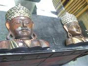 Sale 7933A - Lot 1196 - Pair of Buddha Busts