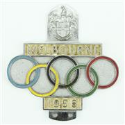 Sale 8279 - Lot 19 - Melbourne 1956 Olympic Car Badge