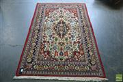 Sale 8341 - Lot 1093 - Persian Kashan (200 x 125cm)