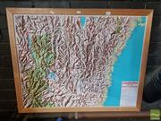 Sale 8552 - Lot 2097 - Map of Canberra & Snowy Mountains