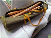 Sale 8629 - Lot 1078 - Kingsgrove Sports Carry Bag with Cricket Stumps