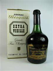 Sale 8340A - Lot 927 - 1x Bisquit Extra Vieille Grande Fine Champagne Cognac - old bottling, in box