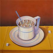 Sale 8511A - Lot 5001 - Gregory R Coates - Too Much Coffee 87 x 87cm