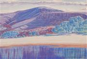 Sale 8606 - Lot 548 - Rex Battarbee (1893 - 1973) - Untitled, 1948 37 x 44.5cm