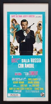 Sale 8908 - Lot 1007 - James Bond- From Russia with Love Movie Poster