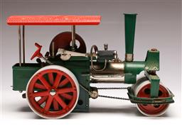 Sale 9138 - Lot 91 - An Old Smokey Steam Tractor (L: 33cm)