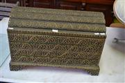 Sale 8115 - Lot 1239 - Graduated Thai Jewellery Chests & Opium Weights