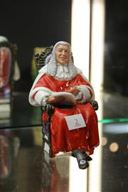 Sale 8269 - Lot 2 - Royal Doulton Figure The Judge by Mary Nicholl