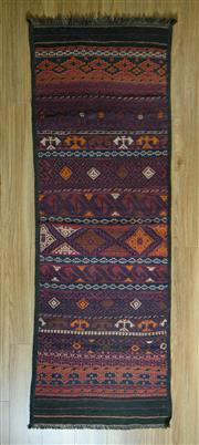 Sale 8693C - Lot 95 - Persian Kilim 200cm x 69cm