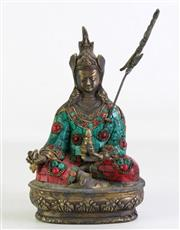 Sale 8935 - Lot 41 - A Chinese Bronze Seated Buddha (H 24cm)