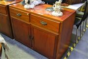Sale 8031 - Lot 1045 - Sideboard w 2 Drawers above 2 Doors