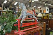 Sale 8331 - Lot 1305 - Painted Timber Rocking Horse